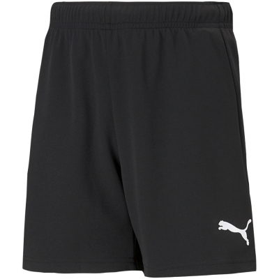 Pantaloni scurti For Puma TeamRISE Short negru 704943 04 pentru Copii copii