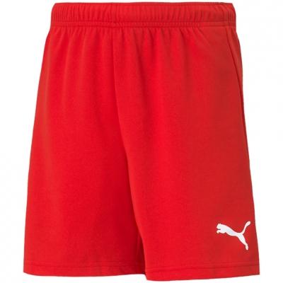 Pantaloni scurti For Puma TeamRISE Short rosu 704943 01 pentru Copii copii