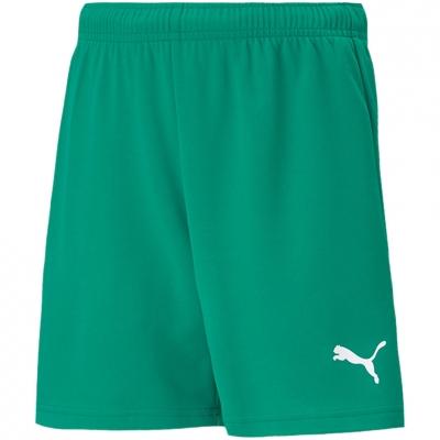 Pantaloni scurti For Puma TeamRISE Short verde 704943 05 pentru Copii copii