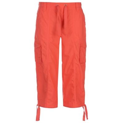 Pantaloni scurti Full Circle Poplin Long pentru Femei intens coral