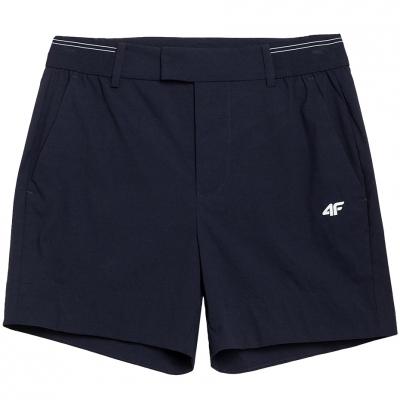 Pantaloni scurti Functional 4F bleumarin H4L21 SKDF080 31S pentru femei