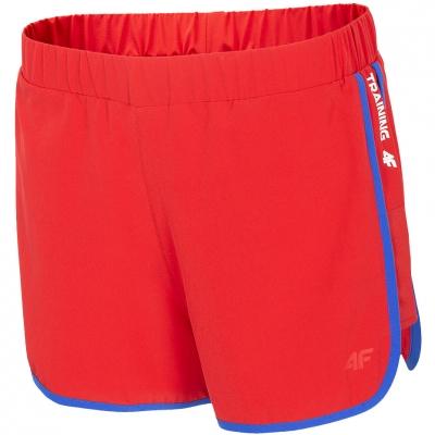 Pantaloni scurti Functional 4F rosu H4L20 SKDF001 62S pentru femei