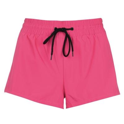 Pantaloni scurti Guess Logo roz