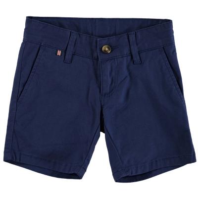 Pantaloni scurti Hackett Hackett Stretch bumbac Twill Chino pentru baieti bleumarin