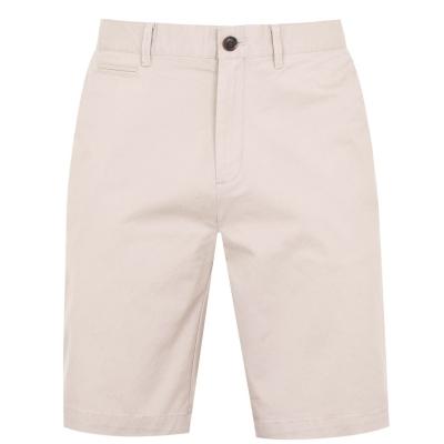 Pantaloni scurti Howick Oakley Slim Chino maro deschis