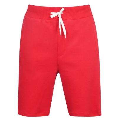 Pantaloni scurti Hugo Piano rosu