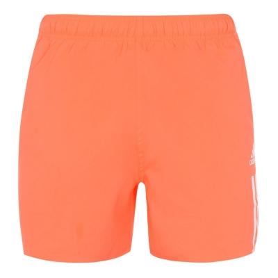Pantaloni scurti inot adidas 3-Stripes Badge pentru Barbati rosu alb