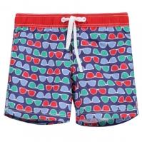 Pantaloni scurti inot Benetton baieti multicolor