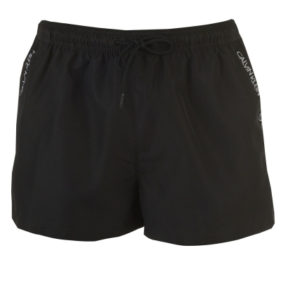 Pantaloni scurti inot Calvin Klein negru