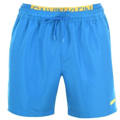 Pantaloni scurti inot Calvin Klein talie dubla albastru