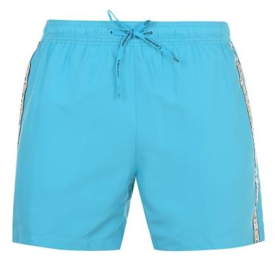 Pantaloni scurti inot Calvin Klein Taped Drawstring scuba albastru