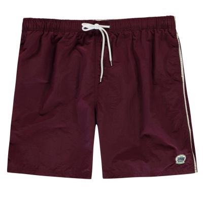 Pantaloni scurti inot D555 Yarrow pentru Barbati rosu burgundy