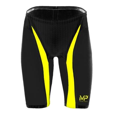 Pantaloni scurti inot Michael Phelps Michael Phelps Xpresso pentru Barbati negru galben