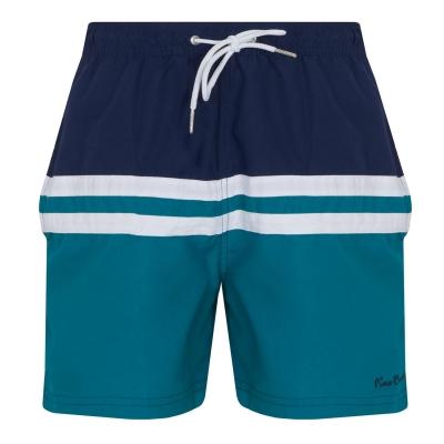Pantaloni scurti inot Pierre Cardin pentru Barbati bleumarin bleu