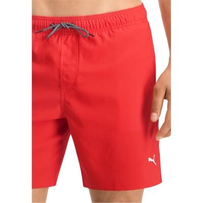 Pantaloni scurti inot Puma Medium rosu