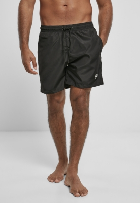 Pantaloni scurti inot Recycled negru Urban Classics