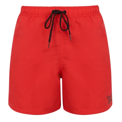 Pantaloni scurti inot Reebok Yale pentru Barbati rosu