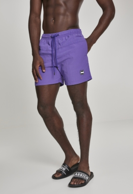 Pantaloni scurti inot violet Urban Classics