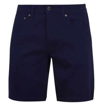Pantaloni scurti Jack and Jones 5 cu buzunar Chino negru mov