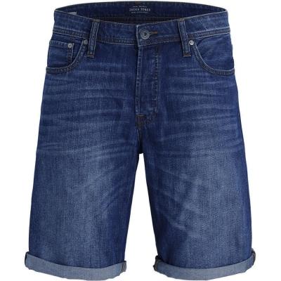 Pantaloni scurti blugi Jack and Jones pentru Barbati inchis albastru