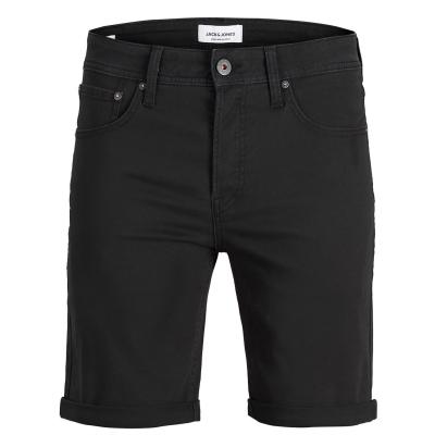 Pantaloni scurti Jack and Jones Rick 5 cu buzunar Chino pentru Barbati negru
