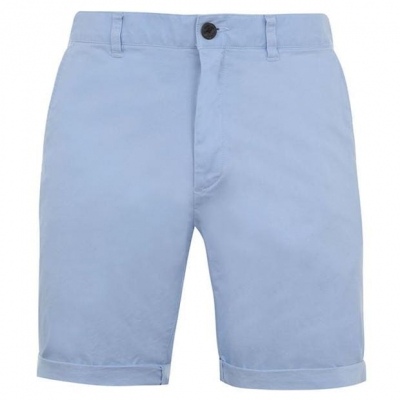 Pantaloni scurti Jack Wills Slim Chino pale albastru
