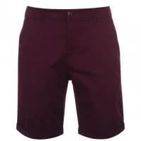 Pantaloni scurti Kangol rosu burgundy