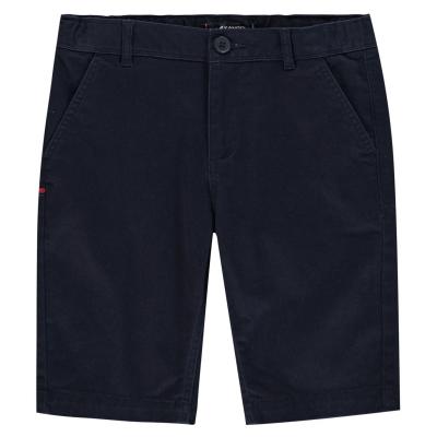 Pantaloni scurti Kangol Chino pentru baietei bleumarin