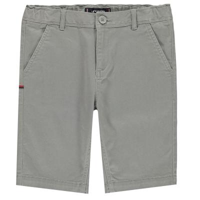 Pantaloni scurti Kangol Chino pentru baietei maro deschis