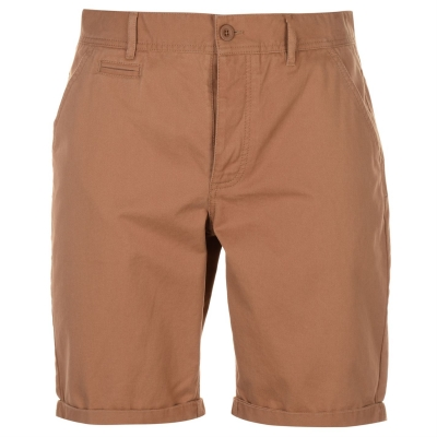 Pantaloni scurti Kangol Chino pentru Barbati inchis nisip