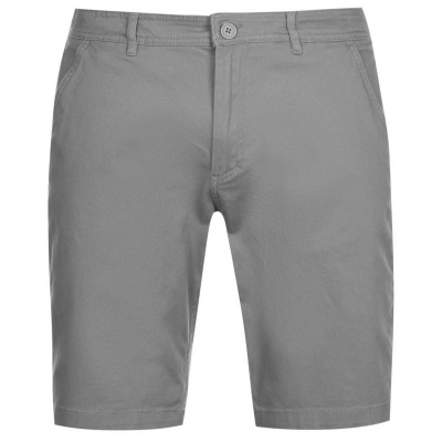 Pantaloni scurti Kangol Chino pentru Barbati maro deschis