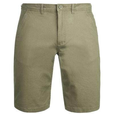 Pantaloni scurti Kangol Chino pentru Barbati deep verde