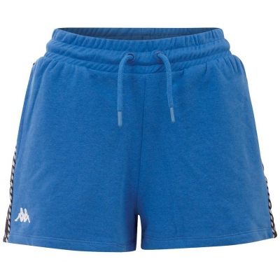 Pantaloni scurti Kappa IRISHA albastru 309076 18-4141 femei