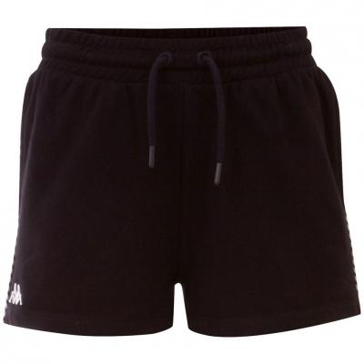 Pantaloni scurti Kappa IRISHA negru 309076 19-4006 femei