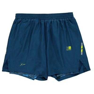 Pantaloni scurti Karrimor X 2 in 1 pentru baietei bleumarin