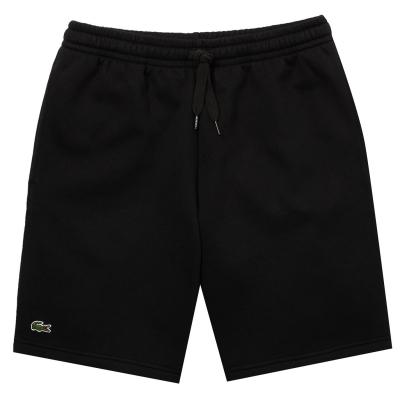 Pantaloni scurti Lacoste negru hjm