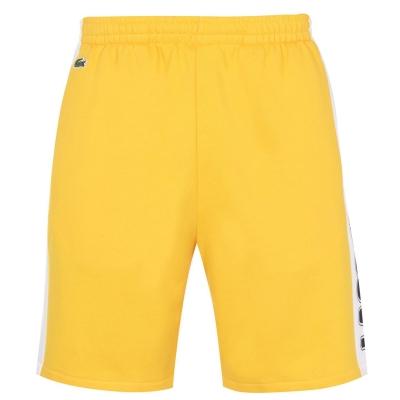Pantaloni scurti Lacoste Block galben hyq