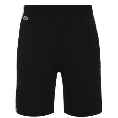 Pantaloni scurti Lacoste Block negru 6kj