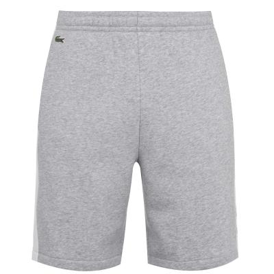 Pantaloni scurti Lacoste Block gri p0f