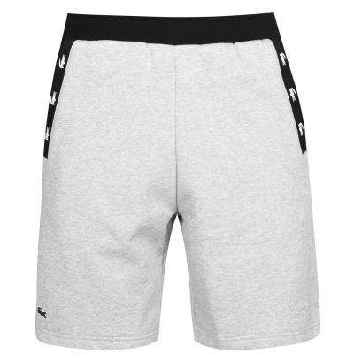 Pantaloni scurti Lacoste Tape cu buzunar gri 80p