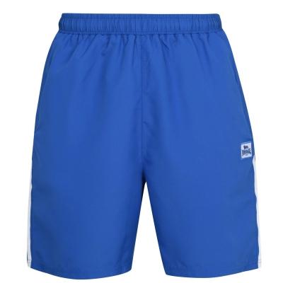 Pantaloni scurti Lonsdale 2 cu dungi Woven pentru Barbati albastru