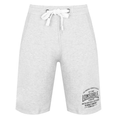 Pantaloni scurti Lonsdale Box Lightweight pentru Barbati gri