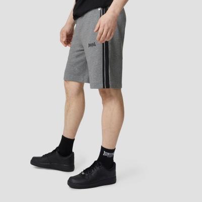 Pantaloni scurti Lonsdale cu dungi inchis deschis