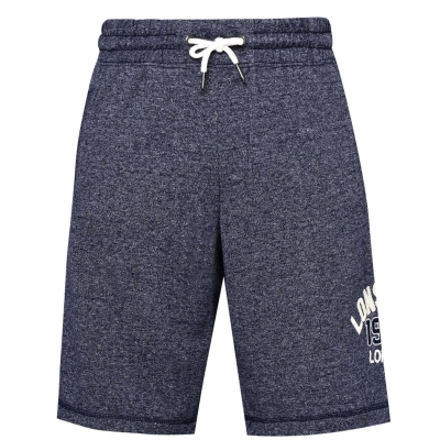 Pantaloni scurti Lonsdale Marl pentru Barbati bleumarin gri