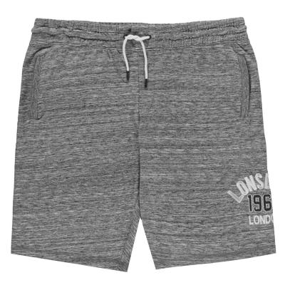Pantaloni scurti Lonsdale Marl pentru Barbati gri