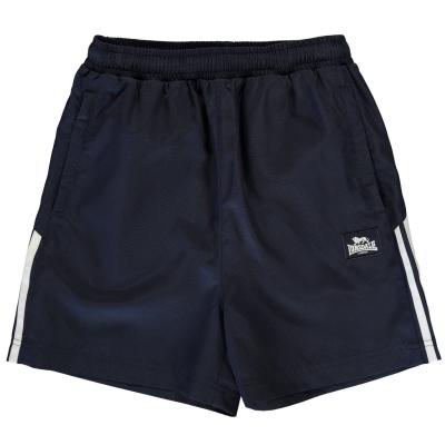 Pantaloni scurti Lonsdale Woven pentru baietei bleumarin