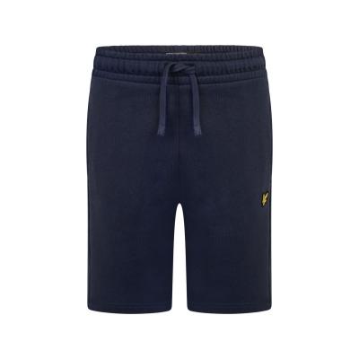 Pantaloni scurti Lyle and Scott Jersey bleumarin