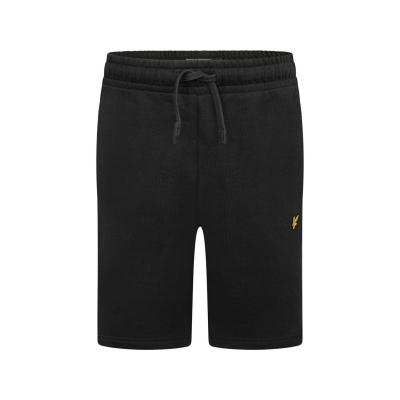 Pantaloni scurti Lyle and Scott Jersey negru