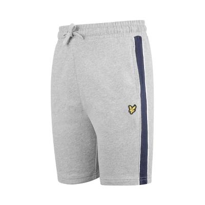 Pantaloni scurti Lyle and Scott Panel gri g59