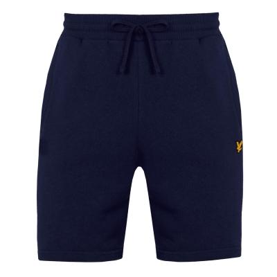 Pantaloni scurti Lyle and Scott Sport Sport Piping bleumarin z05